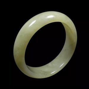 Jewelry - 59mm Grade A 100% Natural Green Jade Bracelet